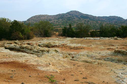 Wichita Mountains Badlands and Granite Mountain