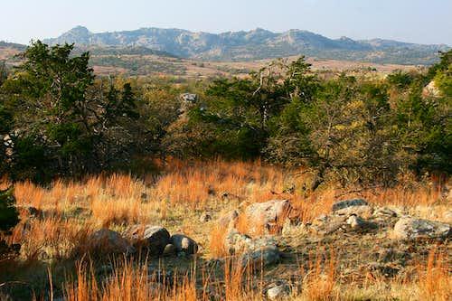 Mount Mitchell Massif, Wichita Mountains Wildlife Refuge