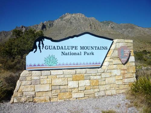 Welcome to Guadalupe Mountains