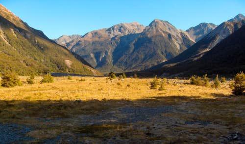 The Waimakariri valley