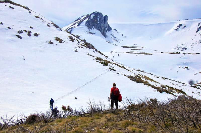 Stogovo: Small peak near Krsiser