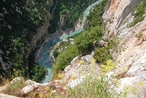 verdon from route de cretes...