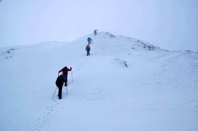 Stogovo: Bik Doruk tween peak