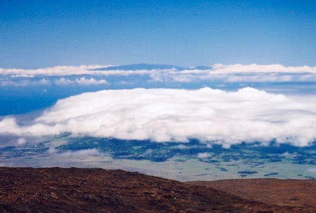 Haleakala from the summit of...