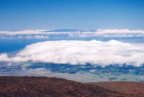 Haleakala from the summit of...