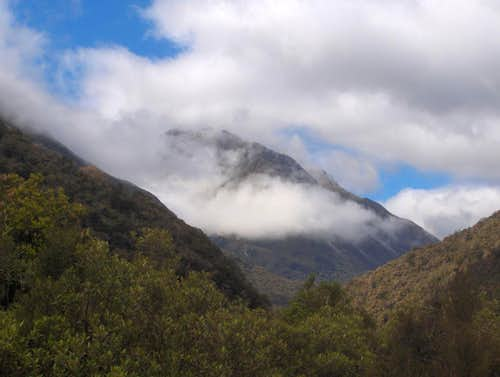 Looking up the Taipo valley