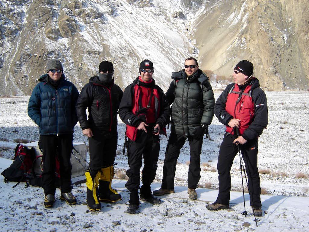 Winter Broad Peak