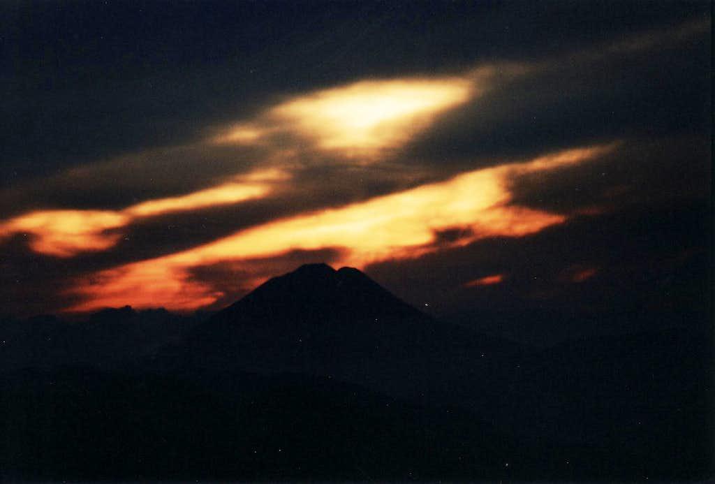 Sumaco sunrise