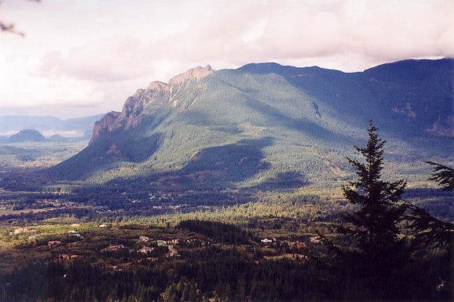 Mt. Si as viewed from...