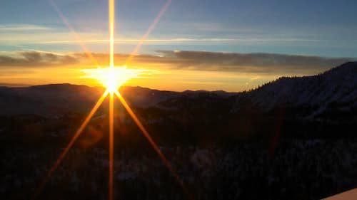Sunrise on the East Slopes of Mount Rose