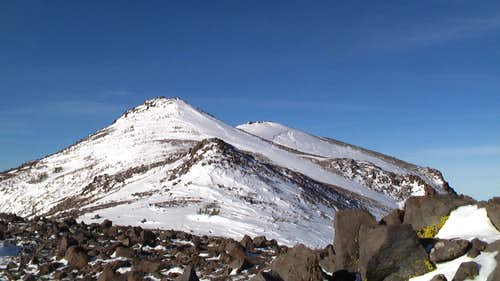 Looking Toward the Mt. Rose Summit