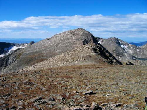 Mount Julian's summit on the...