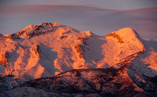 Lone Peak & Bighorn Peak