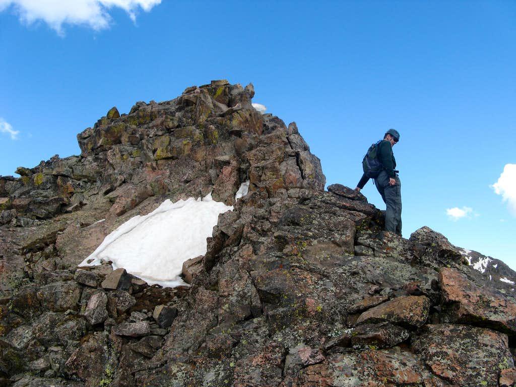 Peak C Ridge Scrambling