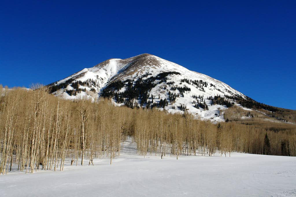 Mount Peale from the south