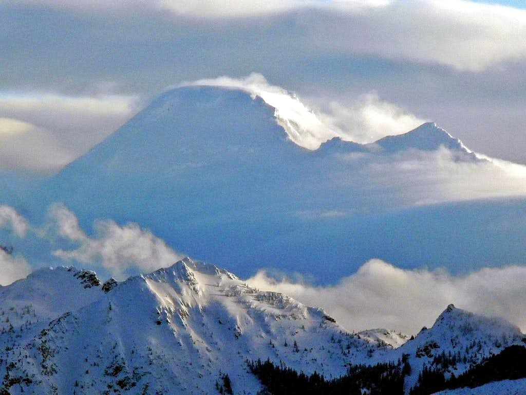 Mount Baker Clearing Up