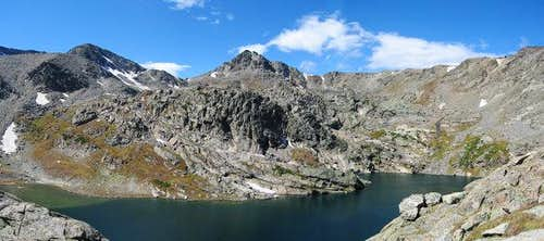 Panorama of Inkwell Lake...