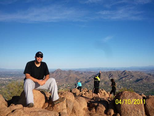 Sitting at the Summit