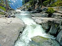 Yosemite Creek meets Yosemite Valley