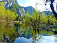 Yosemite Falls from Sentinel Beach