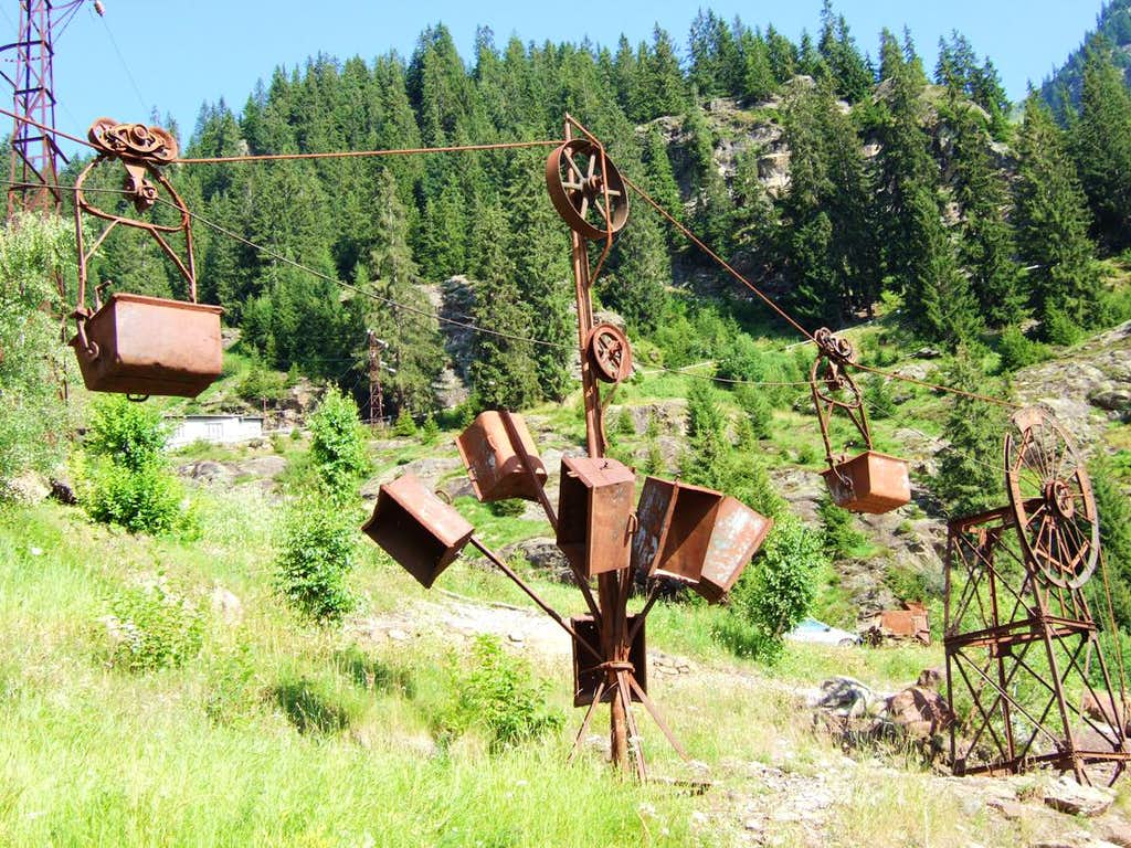 old miners tools...