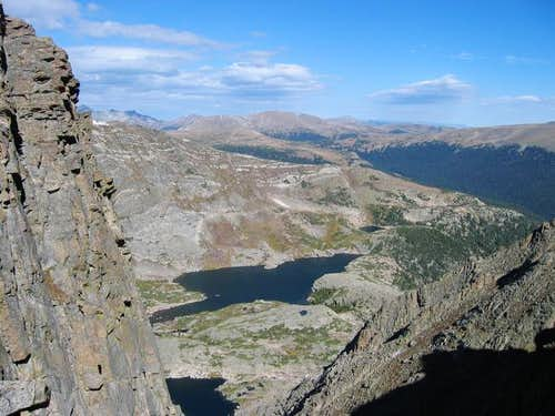 Arrowhead Lake from the...