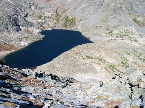 Kane descending Mount...