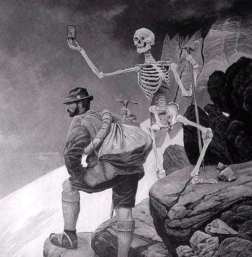Death and the Climber