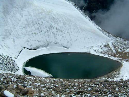 Glacier Lake 200m under the...