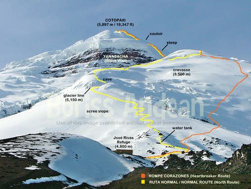 Cotopaxi Topo Photographic Map 2015