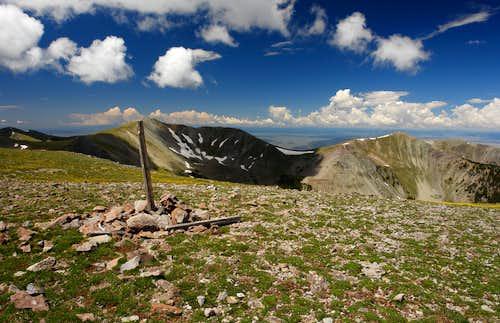 Latir Peak summit