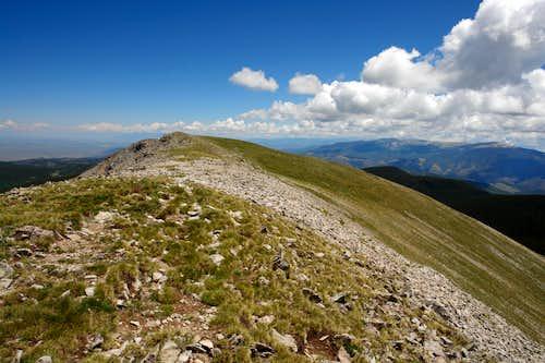 Summit ridge of Latir Peak