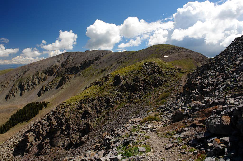 Trail #85 between Venado and UN 12,692