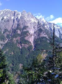 South Face of Mt Garfield from ChoirBoy Summit