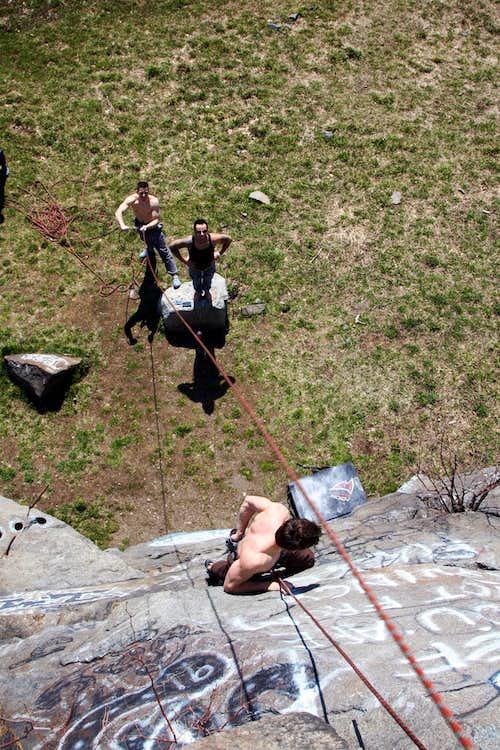Massachusetts Crags