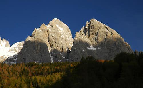 Monte Agner & Spiz d`Agner