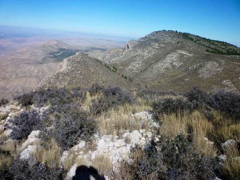 Bush Mountain from Bartlett Peak