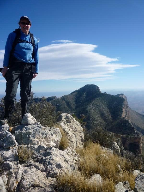 Shumard Peak Summit