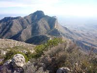 South to Guadalupe Peak