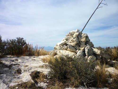 Lost Peak Summit Cairn