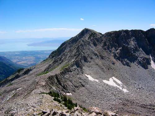 Chipman Peak as viewed from...