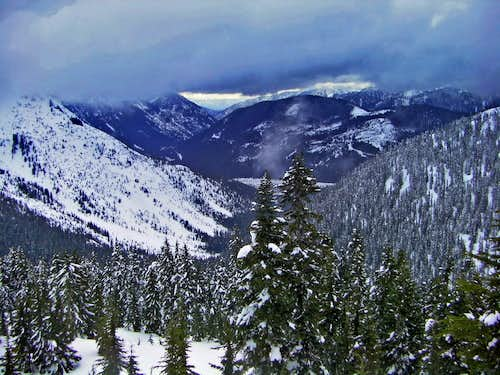 Looking Towards Leavenworth