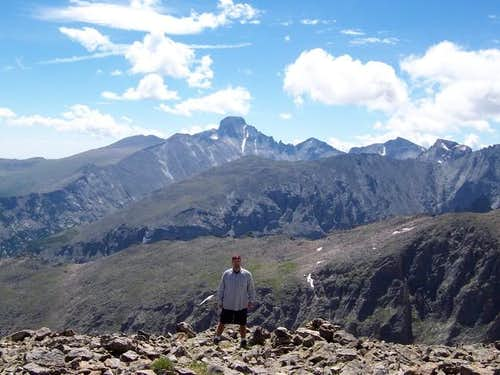 Looking toward Longs Peak...