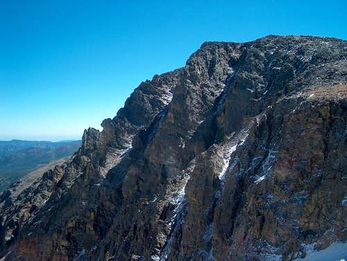 The North Face of Otis Peak