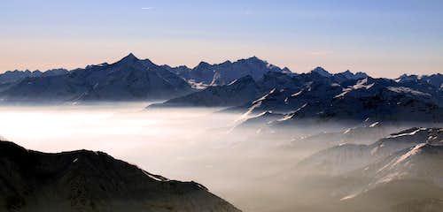 Views of Gran Paradiso