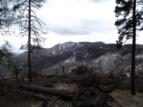 Mount Bigelow from Highway