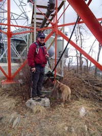 My boys at the summit