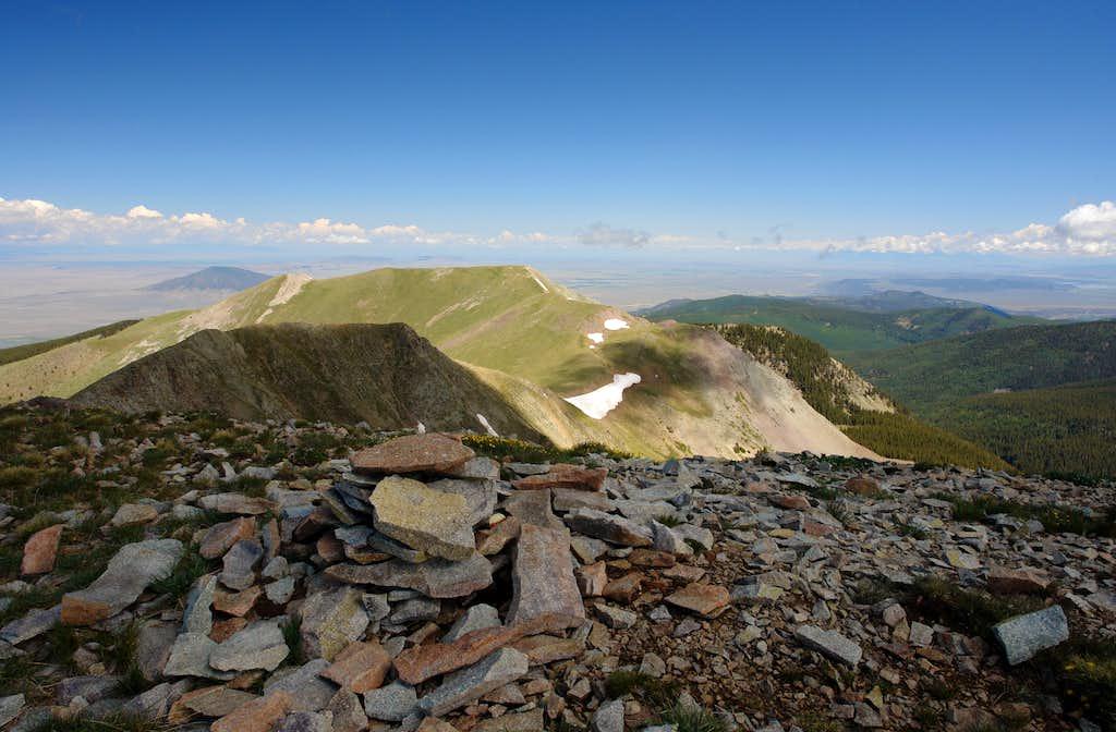 Venado Peak summit