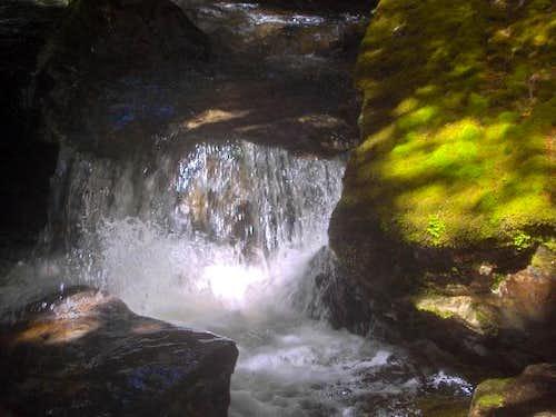 The upper Caples River