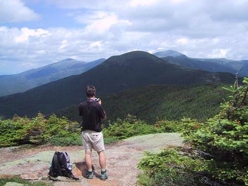 Summit view from Mt Pierce....